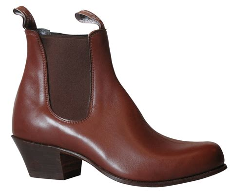 bushman cuban heel b500c made to order boots