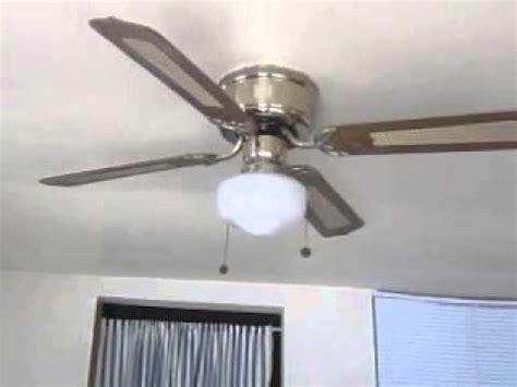 what is a hugger style ceiling fan smc emperor hugger ceiling fan youtube