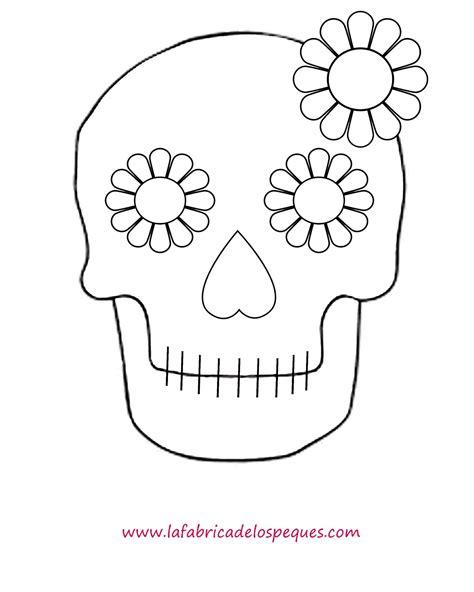 imagenes de calaveras bonitas para colorear plantillas e imprimibles gratis para halloween calaveras