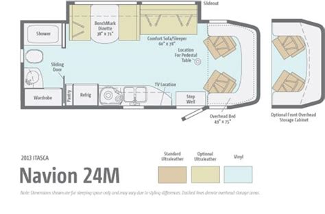navion rv floor plans used 2015 winnebago navion class c motorhomes for sale in