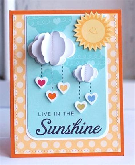 Creative Handmade Card Ideas - adorable valentines day handmade card ideas pink lover