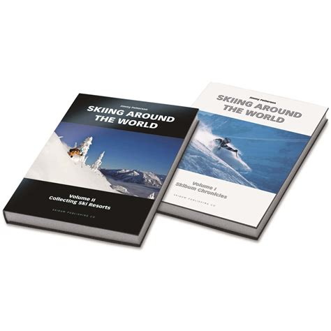 the world books skiing around the world two book set skiing around the