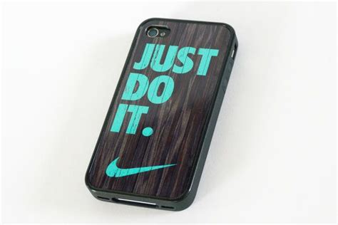 Lmint Nike Just Do It On Carbon Iphone Dan Semua Hp iphone 5 nike just do it mint colored on darkwood by deccase 16 00 want
