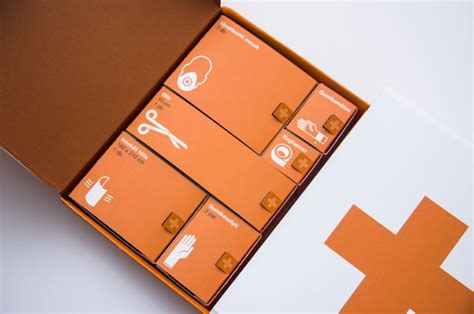 design kit life saving first aid kit looks like it was designed by