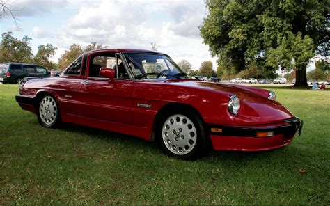 Alfa Romeo Spider 1986 by 1986 Alfa Romeo Spider Information And Photos Momentcar