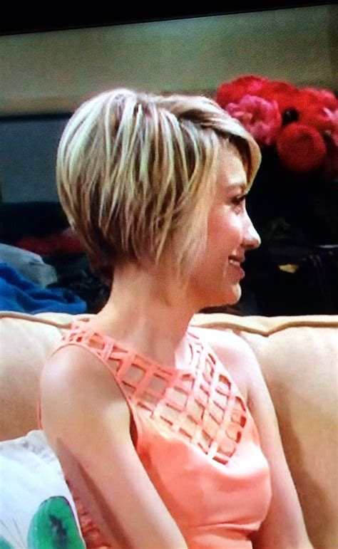chelsea kane back and front view haircut hairstyles images with front and back view short