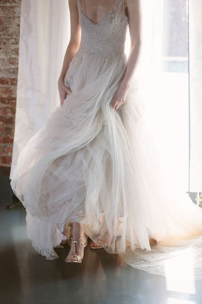 Wedding Dresses And Shoes by Rustic Metallic Wedding With Silver And Gold Leaf Accents