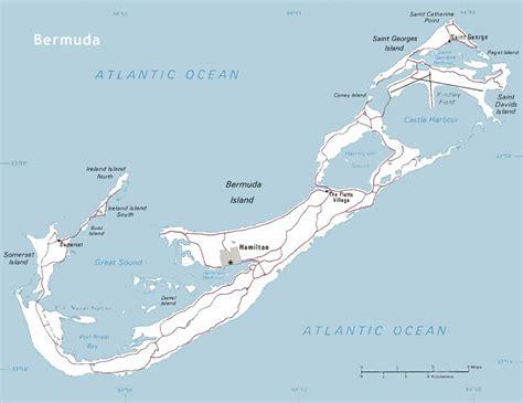 bermuda on world map bermuda maps