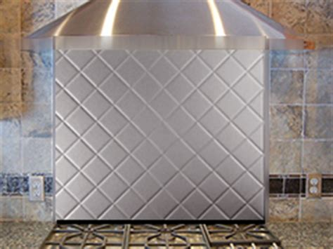 satin quilt stainless steel backsplashes from