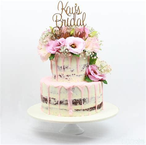 rustic semi naked cakes   special occasions