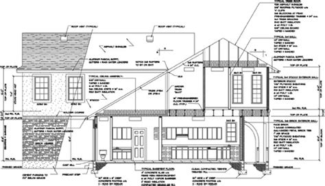 section drawing of a house softplan home design software automatic cross sections