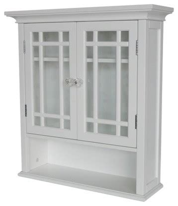 Bathroom Wall Cabinets And Shelves Neal Wall Cabinet With 2 Doors And 1 Shelf Traditional Bathroom Cabinets And Shelves By