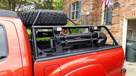 off road truck bed rack overland rack tacoma world