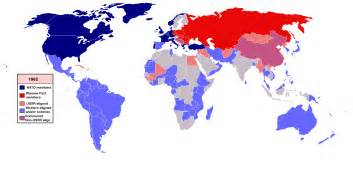 Cold War World Map world war three project reality forums
