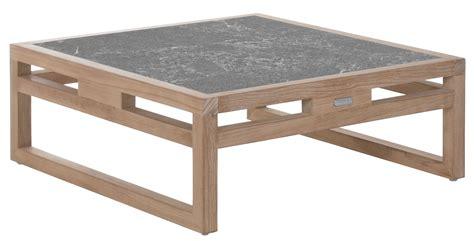 table basse kontiki de lave 80x80 cm de