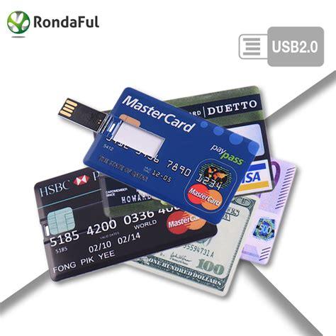 Memory Card External 16gb Credit Card 16gb 32gb Usb Flash Drive 16gb Pen Drive 64gb