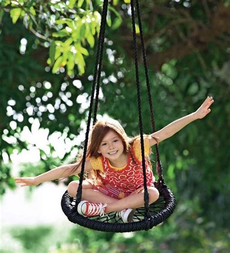 diy kids swing diy swing ideas for kids little fingers