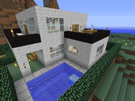minecraft awesome house awesome modern house minecraft project