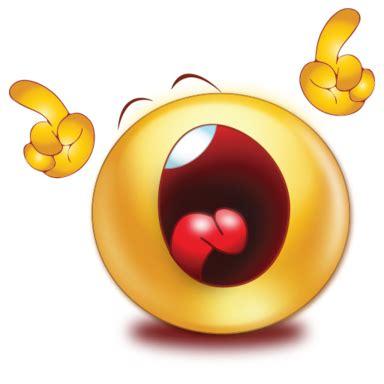 emoji yelling crying shouting emoji