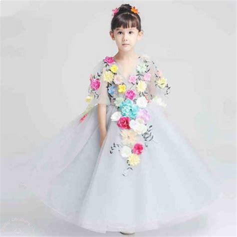 Dress Kid An glamorous birthday dresses for baby couture india
