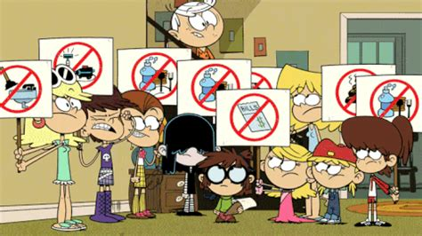 protesting the loud house gif by nickelodeon find