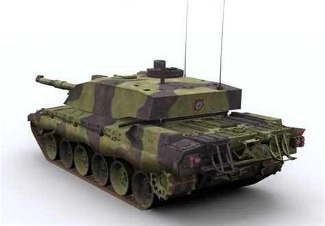 challenger 2 tank model challenger 2 army tank 3d model ready max