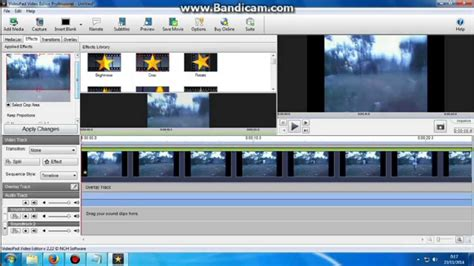tutorial penggunaan videopad video editor how to add fast or slow motion to any video in videopad