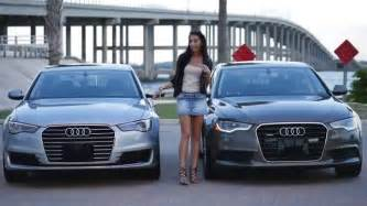 Audi A6 Acceleration 2016 Audi A6 Vs 2015 Audi A6 Quattro Look And 0 60