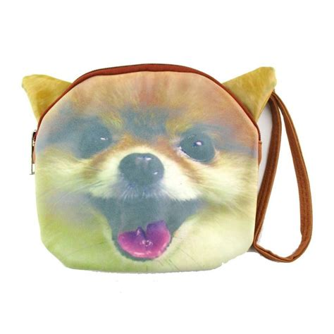 gifts for pomeranian pomeranian shaped clutch bag gifts for