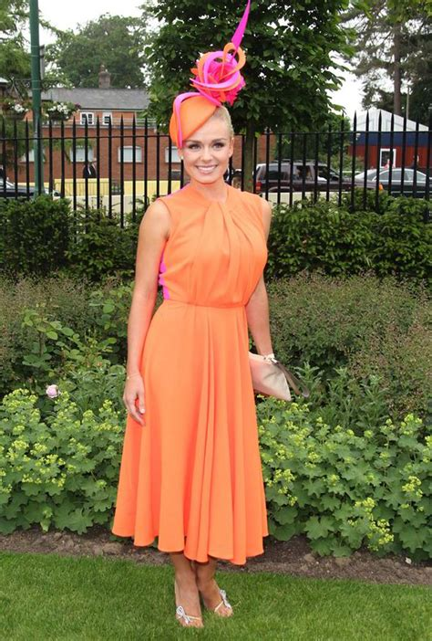 Royal Dress Balotelly Tangerine Berkualitas 12 tangerine katherine jenkins looks lovely in orange as she attends royal ascot