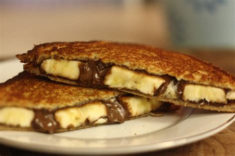 4 easy grilled banana recipes nutella and banana sandwich recipe dishmaps