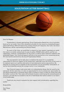 Donation Solicitation Letter Template by How To Write A Donation Request Letter For Basketball