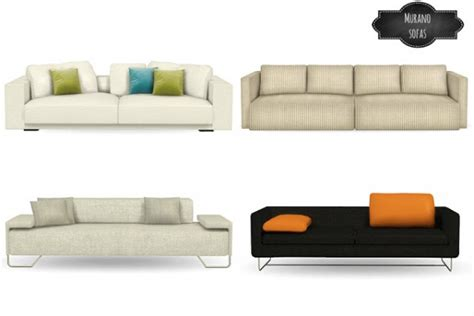 Best Cheap Couches mio sims murano sofas conversions sims 4 downloads