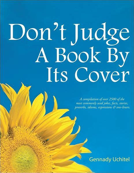 Novel Dont Judge A By Cover don t judge a book by its cover by gennady uchitel nook