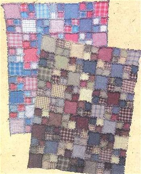 Flannel Rag Quilt Patterns by Information On Free Rag Flannel Quilt Patterns At
