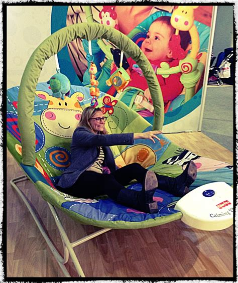 baby swing for adults fisher price giant bouncer the baby show tine mummy in