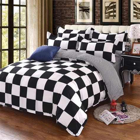 bedding cheap online get cheap black white bedding queen aliexpress com