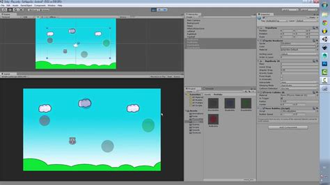tutorial android games 2d 13 make your first 2d game for android using unity3d