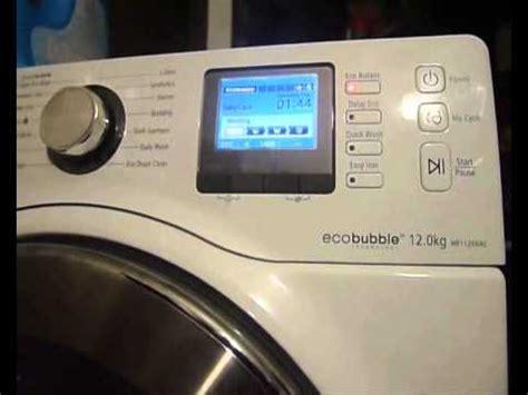 reset samsung ecobubble samsung eco bubble wf906u4sawq test wirowania 1400 ob
