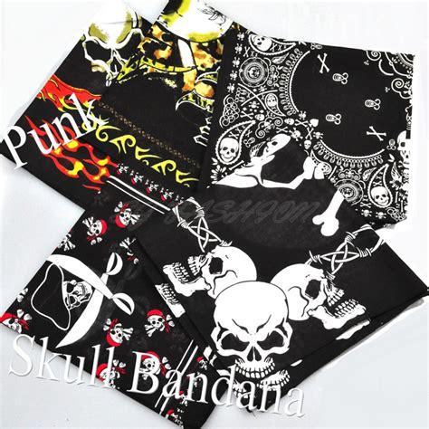 uk seller bandana scarf neck scarf scarves skull