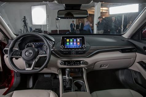 nissan altima interior backseat how the 2019 nissan altima measures up to camry accord