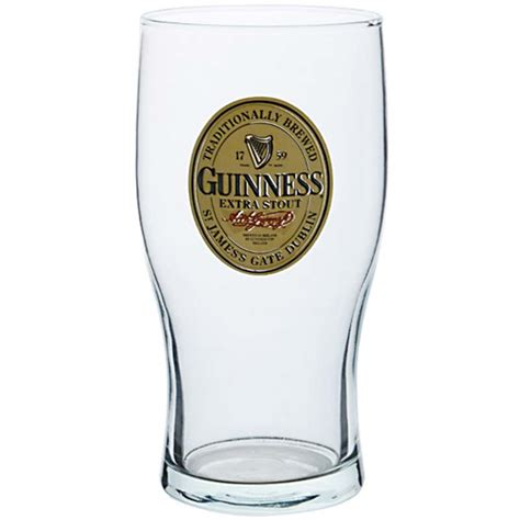 bicchieri guinness bicchiere guinness per soli 14 34 su merchandisingplaza