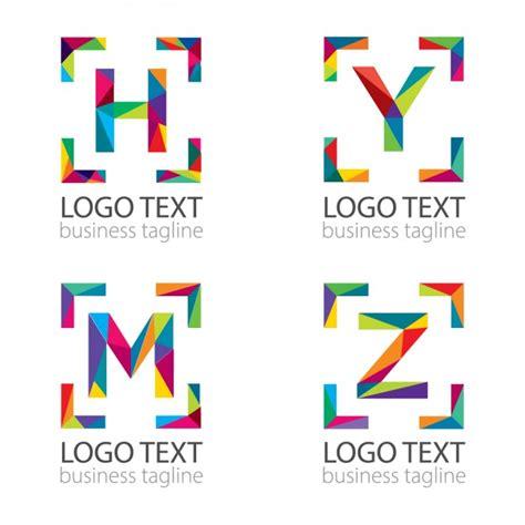 lettere moderne moderne letters logo vector gratis