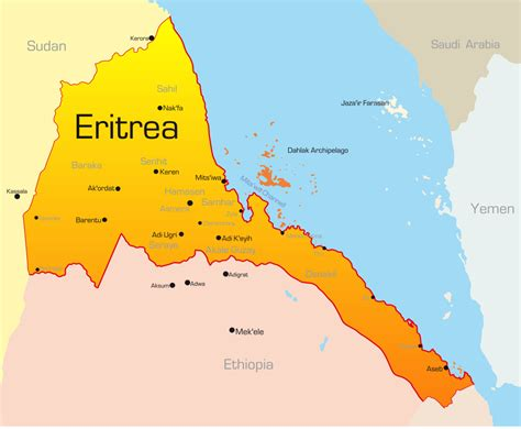 eritrea map eritrean traditional food coffe