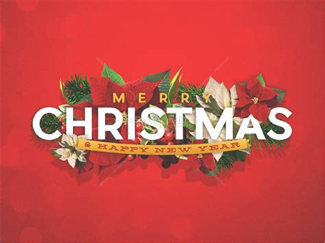 Merry Christmas Happy New Year Christian Powerpoint Merry Powerpoint
