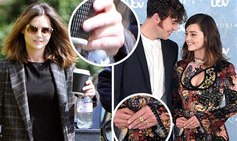 tom hughes actor instagram victoria star jenna coleman emerges without that ring amid