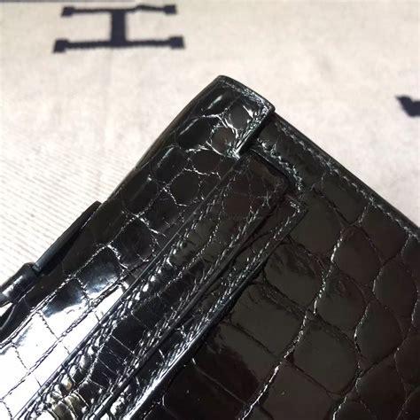 Hermes Lindy Size 31cm noble hermes ck89 black crocodile leather cut cluth