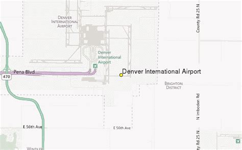 denver colorado airport map denver colorado airport weather forecast
