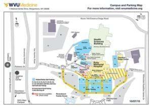 parking | ruby memorial hospital