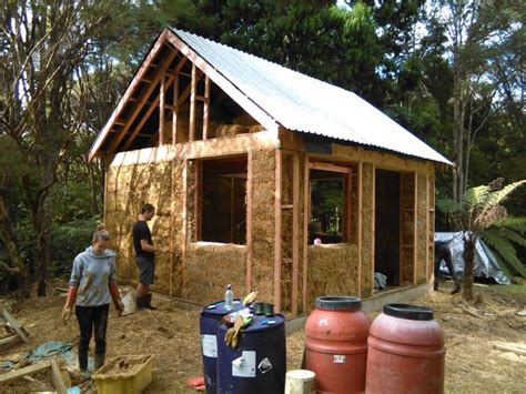 our attempt at building a small straw bale house for 15 000